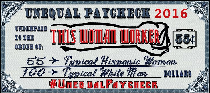 Please use this paycheck for your #UnequalPaycheck selfie if you are Latina. Tweet and post your selfie on April 12, Equal Pay Day, with the hashtags #UnequalPaycheck and #EqualPay to raise awareness about the wage gap. And don't forget to attend our Facebook event at  https://www.facebook.com/events/212408139115727!