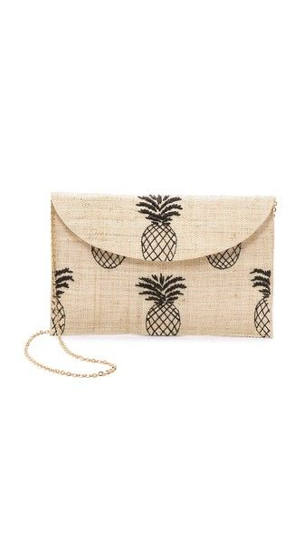 Pineapple clutch Ananas Handtasche