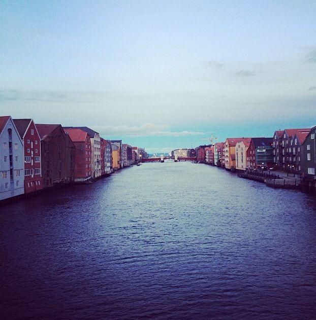Gamle Bybro, Nidelven #Trondheim