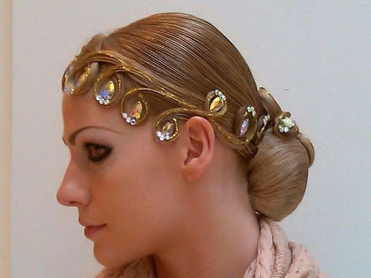 1000+ Images About Dancesport Hair On Pinterest
