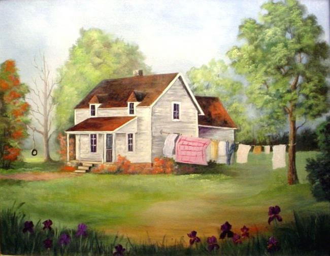 House Paintings 416 best painting house portraits & landscaping images on