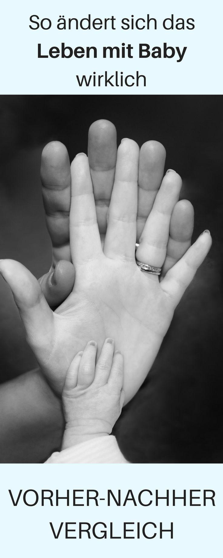 Leben mit Baby – vorher nachher – das ändert sich wirklich! ♥ – ♥ Der große Baby und Kleinkind Ratgeber ♥