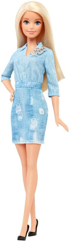 Barbie Fashionistas Doll - Double Denim Look