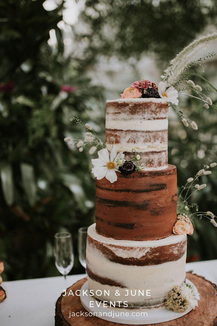 Jasmine & Christian 6.2.19 Simple wedding cake, Wedding