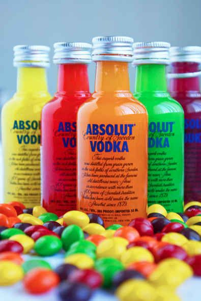 3. Skittles Vodka | 21 Drunken Foods That Will Change The Way You Party