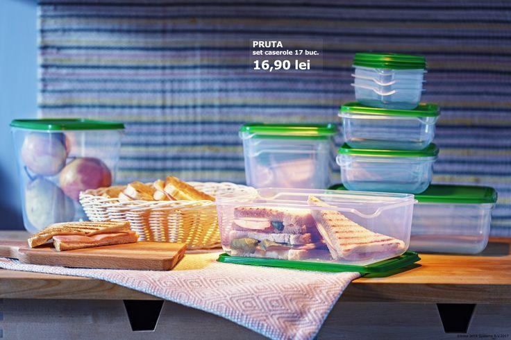 De la ajutor în bucătărie, la plecat cu tine în vacanțe, caserolele PRUTA se fac de nelipsite din orice casă.