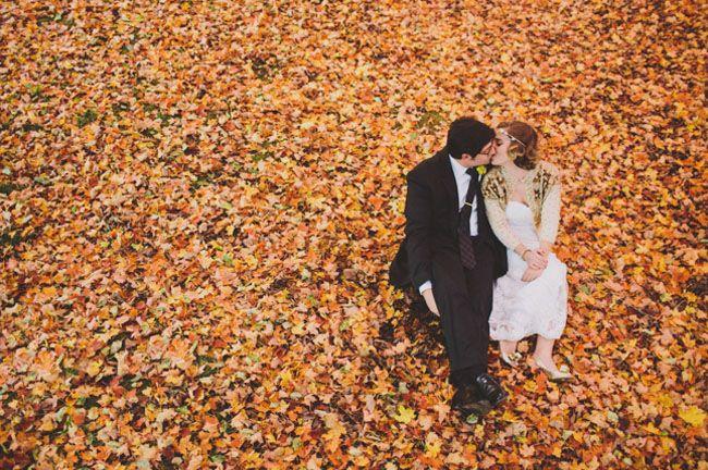 Autumn Woodland Wedding: Natalie + Mark
