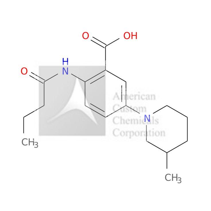 2-(butanoylamino)-5-(3-methylpiperidin-1-yl)benzoic acid is now  available at ACC Corporation