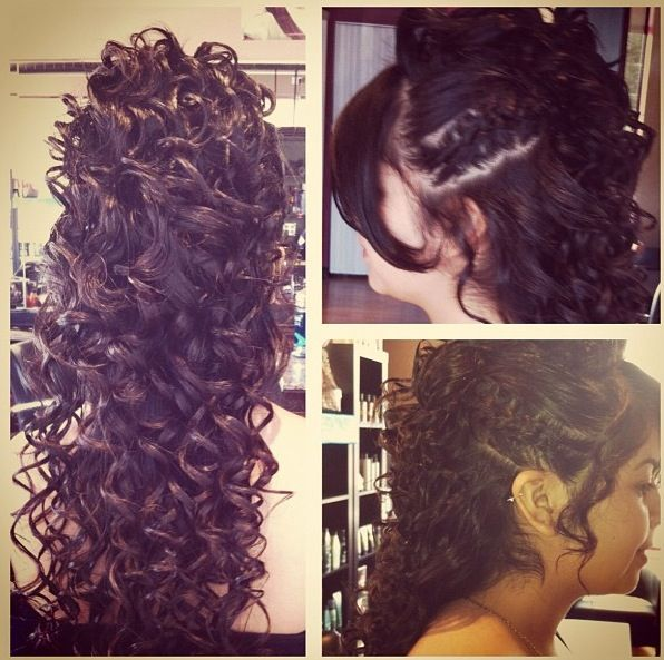 Formal Updo!  By Cynthia at Our Salon!  #Updo #Curls #Style #Prom #Homecoming