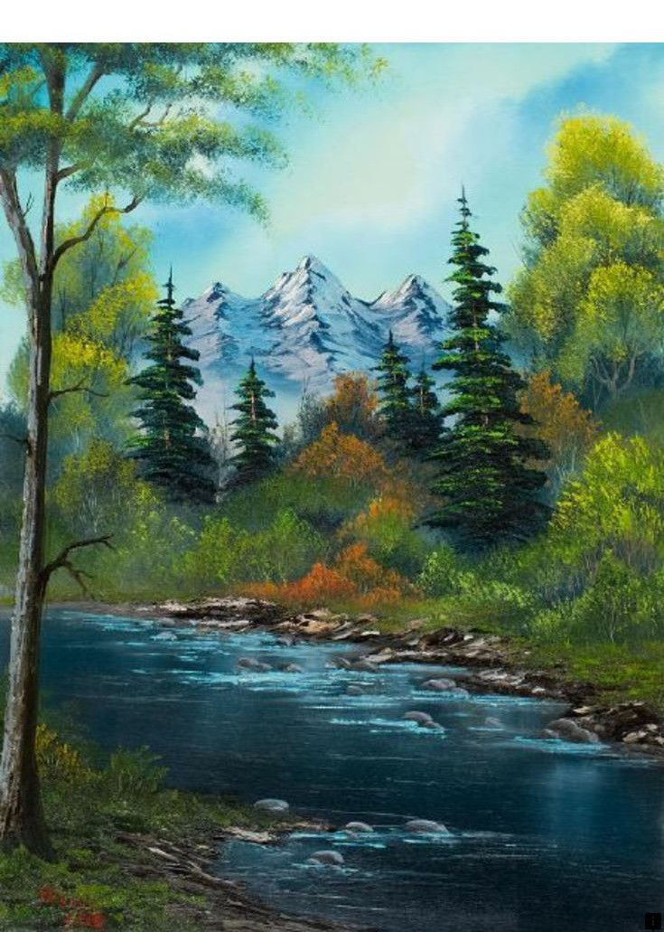 What Are Bob Ross Paintings Worth : paintings, worth, About, Paint, Shop., Please, Click, More_, Pages!, Landscape, Paintings,, Nature, Paintings