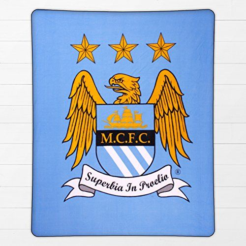 Manchester City FC Authentic EPL Fleece Blanket BL