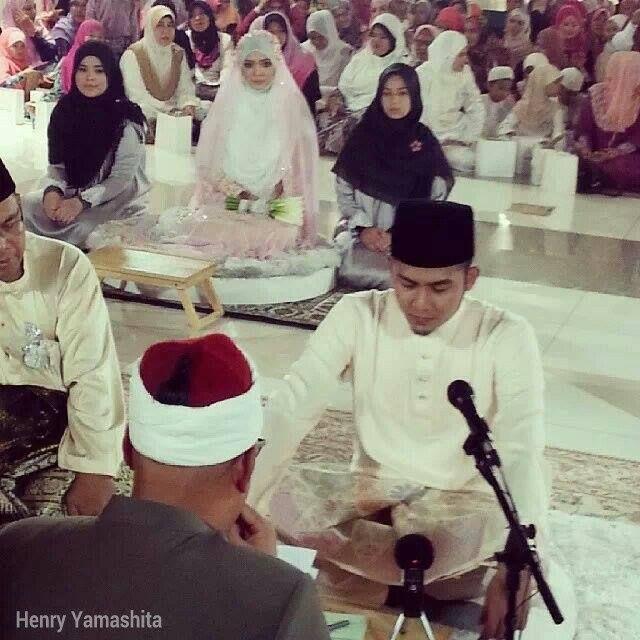 Gambar Sekitar Majlis Pernikahan Diana Amir Dan Muhammad Habib Bullah. Majlis Perkahwinan Diana Amir, Diana Amir Bernikah Dengan Muhammad Habib Bullah