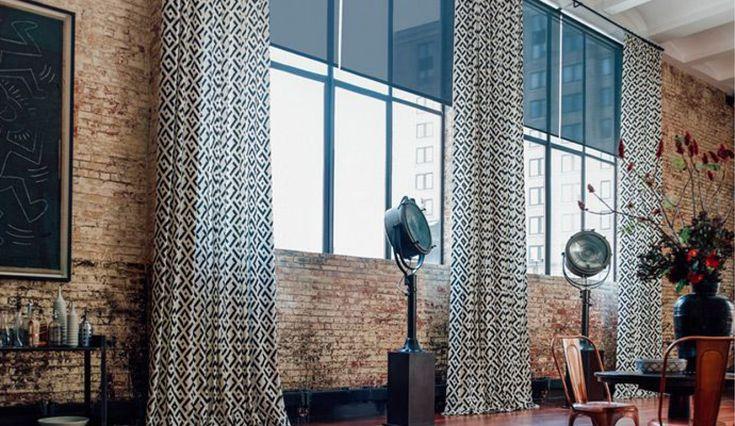 Industrial Style Window Treatments Paula E Guzman