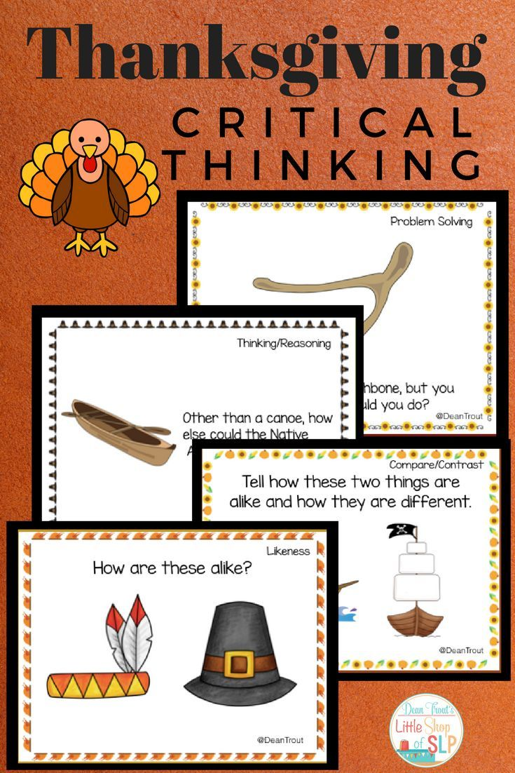 critical thinking speech