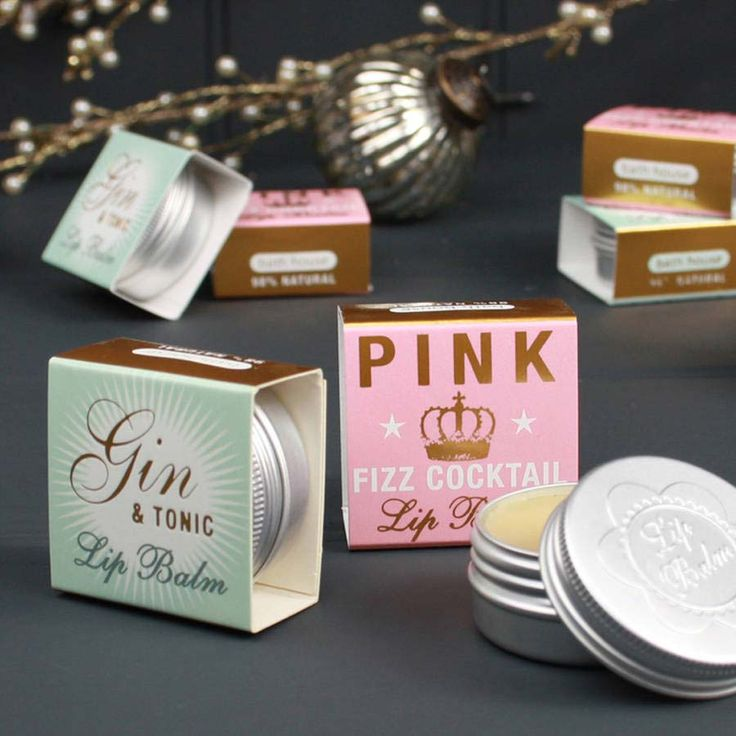 Cocktail flavoured lip balm from Not on the High Street