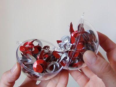 Riciclo Creativo - Craft and Fun: Palline di Natale fai da te con il riciclo creativo