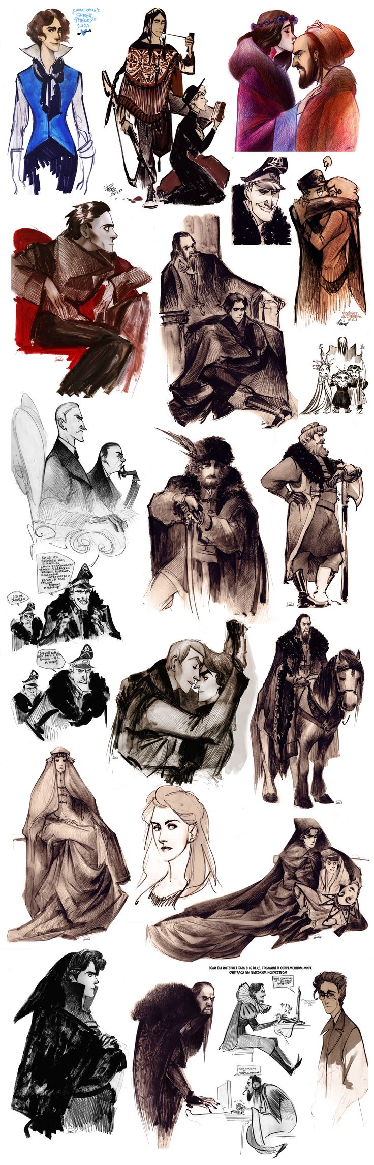 that's a sketchdump V by Phobs.deviantart.com on @DeviantArt