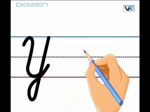 how to draw capital y