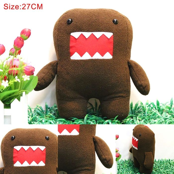 Domo Plush Doll: http://www.fromastore.com/products/hot-japanese-cartoon-anime-large-plush-toys-domo-plush-dolls-birthday-gift-27-cm-38-cm-50-cm/ #Japan #Plush #Doll #Collection