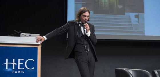 """""""Tout est mathématique"""", conférence Honoris Causa de Cédric Villani"""