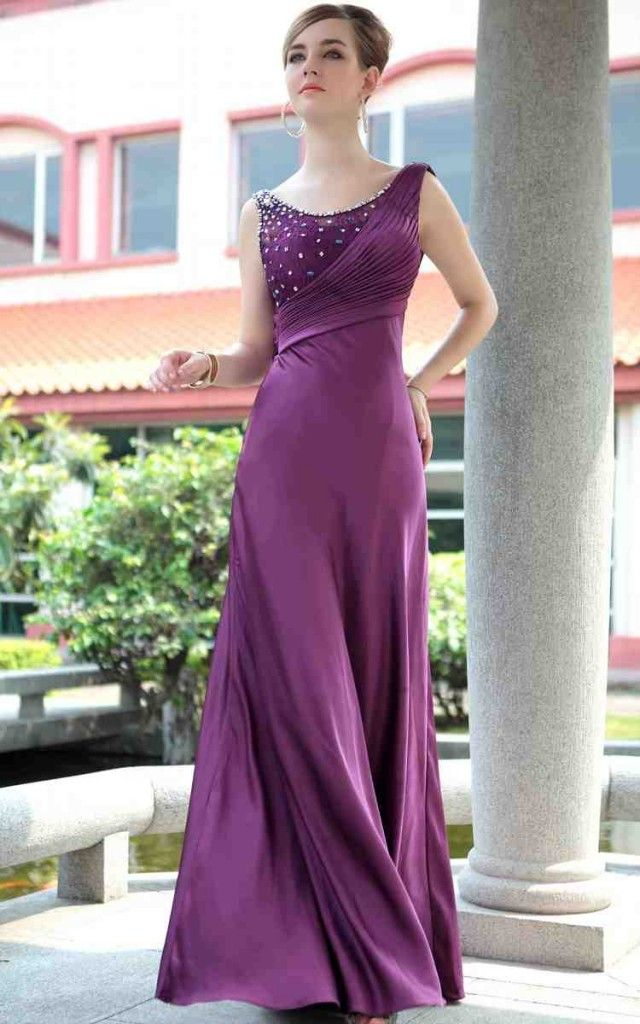 67 best Long Bridesmaid Dresses images on Pinterest | Long slip ...