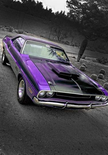 Purple Challenger Click to Find out more - http://fastmusclecar.com/purple-challenger/