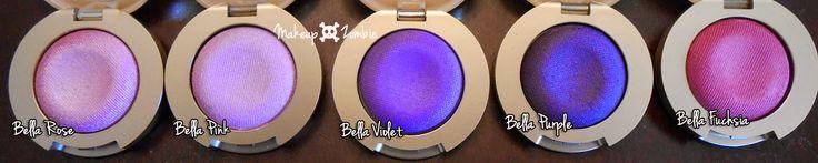 "Makeup Zombie: Milani Cosmetics ""Bella Eyes"" Gel Eyeshadow swatches!"