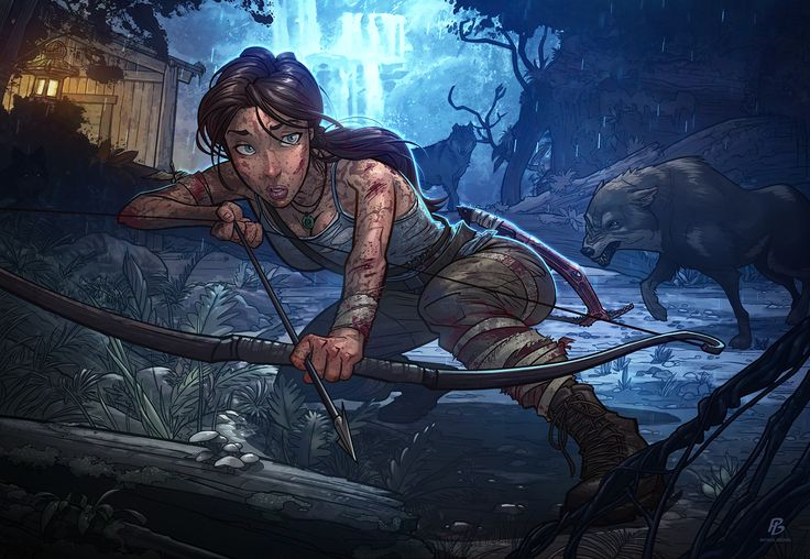 Tomb Raider - Definitive Edition by PatrickBrown.deviantart.com on @deviantART
