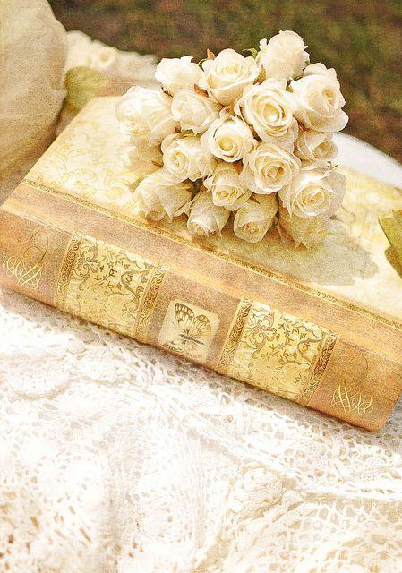 Cottage Charm ~ beige, cream, ivory