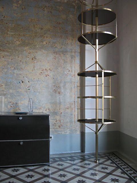 Design Pietro Russo, Libreria Voliera, manifattura artigianale. Foto Adriano Russo