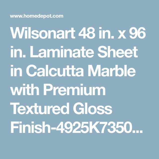 48 in x 96 in laminate sheet in calcutta marble with premium textured gloss finish - Ubahnaufkantung Grau