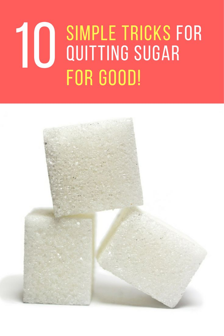 Let's face it, we all love eating sugary foods and it is so hard to stop eating them. No worries because here are 10 tricks on how to quit sugar for good.   IdeaHacks.com