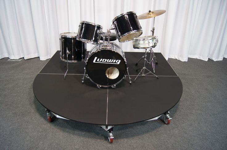 Rolling Drum Riser By Quik Stage A Unique New Product