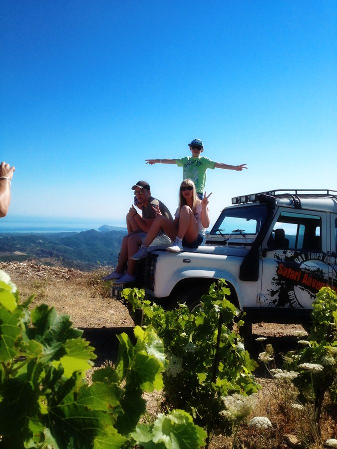 At the vineyards of Crete