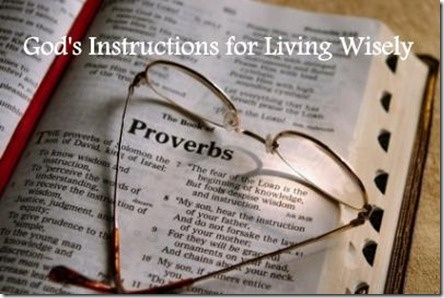 A Walk in the Countryside: Sunday Bible Study – Proverbs 2:1-8.... What is necessary for us to live a Godly life?