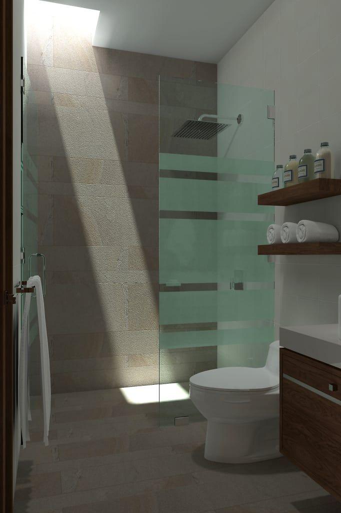 Fotos de baños de estilo regadera homify
