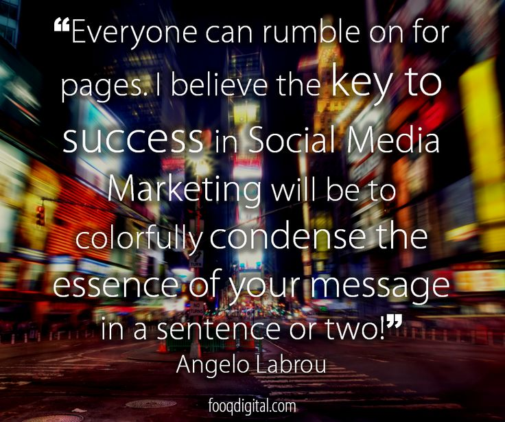 The #keytosuccess in #SocialMediaMarketing is #MeetLoveSell
