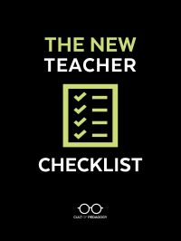 New Teacher ChecklistPDF