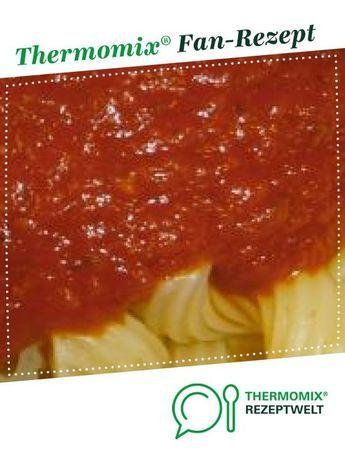 Tomatensauce, die die Kinder lieben   – Thermomix
