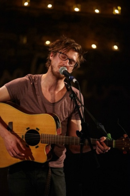 Arthur. Darvill. Is. Singing. Life= complete <3 didn't think you could get more attractive, Rory.