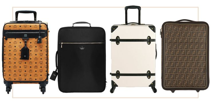 10 Designer Luggage Bags That Don't Blend In Up the luxe factor in your carry-on.