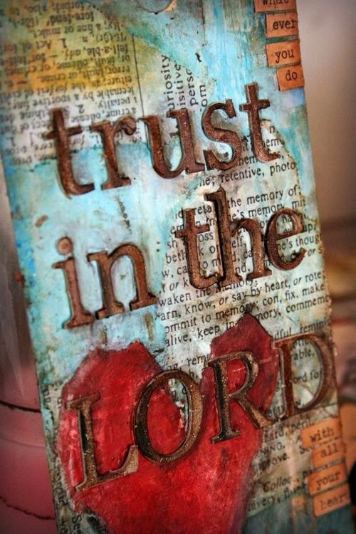"""""""For anyone out there who doesn't know where you're going, anyone groping in the dark, here's what: Trust in God. Lean on your God! (Isaiah 50:10 Message) -Refine Me: Trust and Obey"""