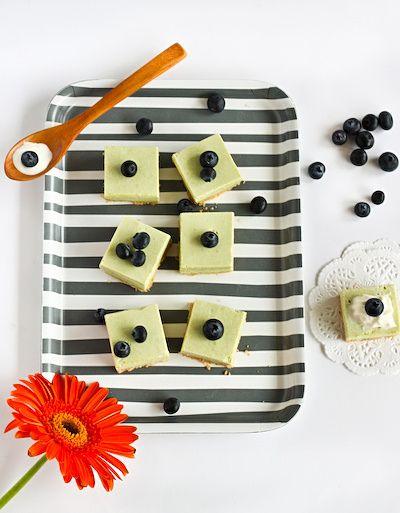 mmmmmmatcha Green Tea Cheesecake Bites