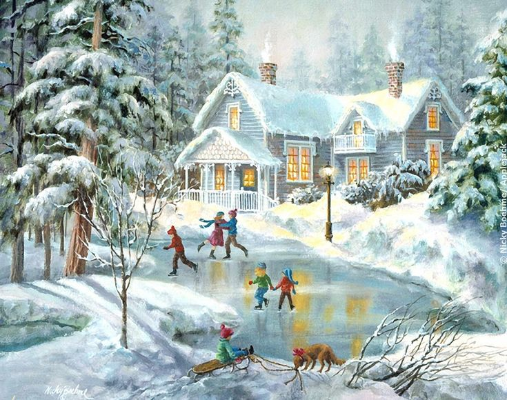 17 Best images about Art of Nicky Boehme on Pinterest   Guardians of ga'hoole, Christmas trees ...