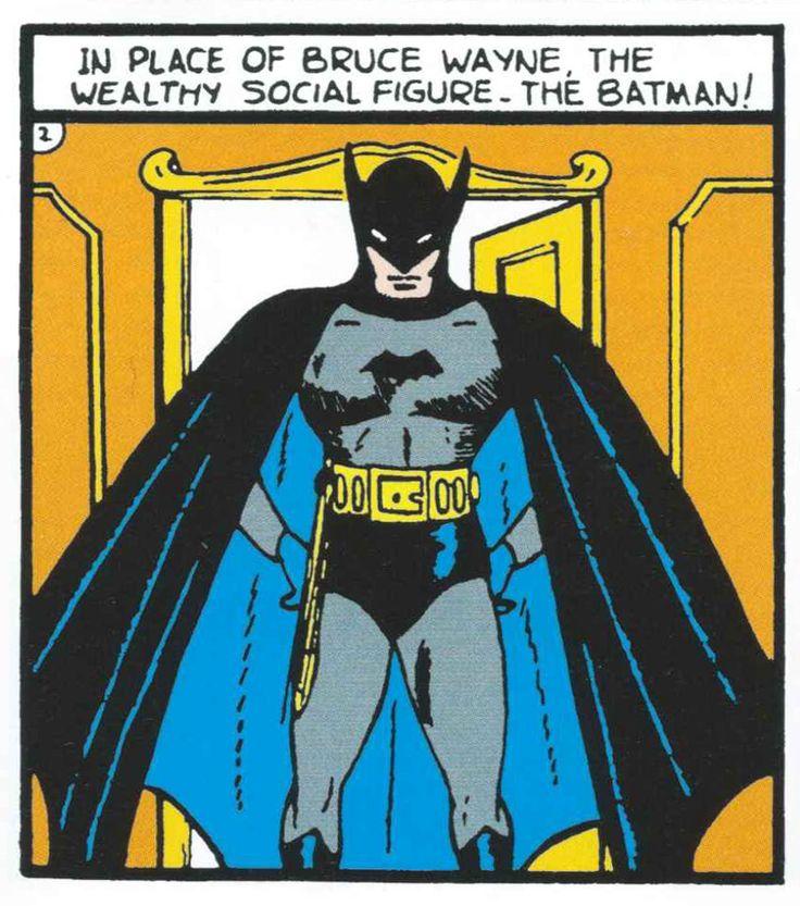 "detective-comics: """"Detective Comics #29 (1939) art by Bob Kane words by Bill Finger "" """