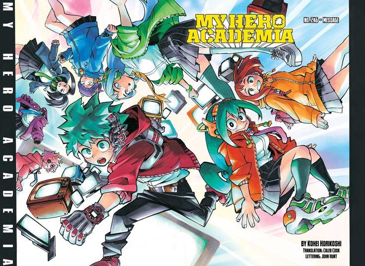 Boku No Hero Academia Chapter 246 Boku No Hero Academia My Hero Academia Hero