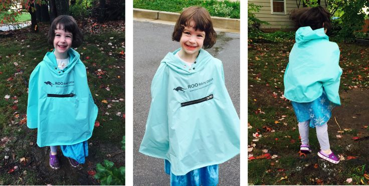 Waterproof rain gear for your kids made from Recycled Plastic Bottles, so awesome!