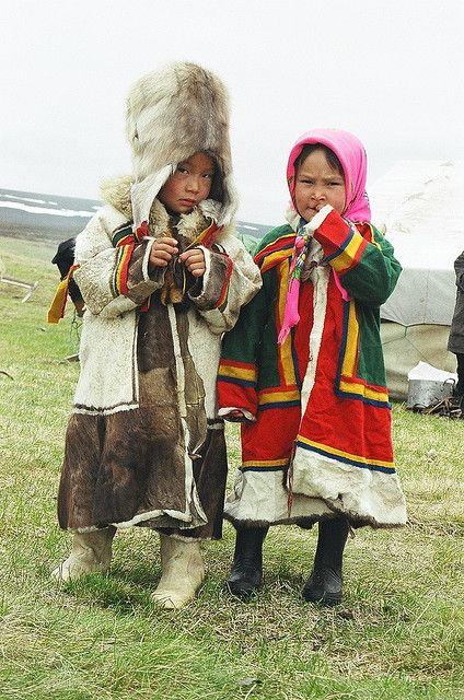 Nenets in Siberia, Russia