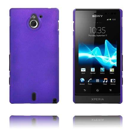 Hard Shell (Lilla) Sony Xperia Sola Deksel