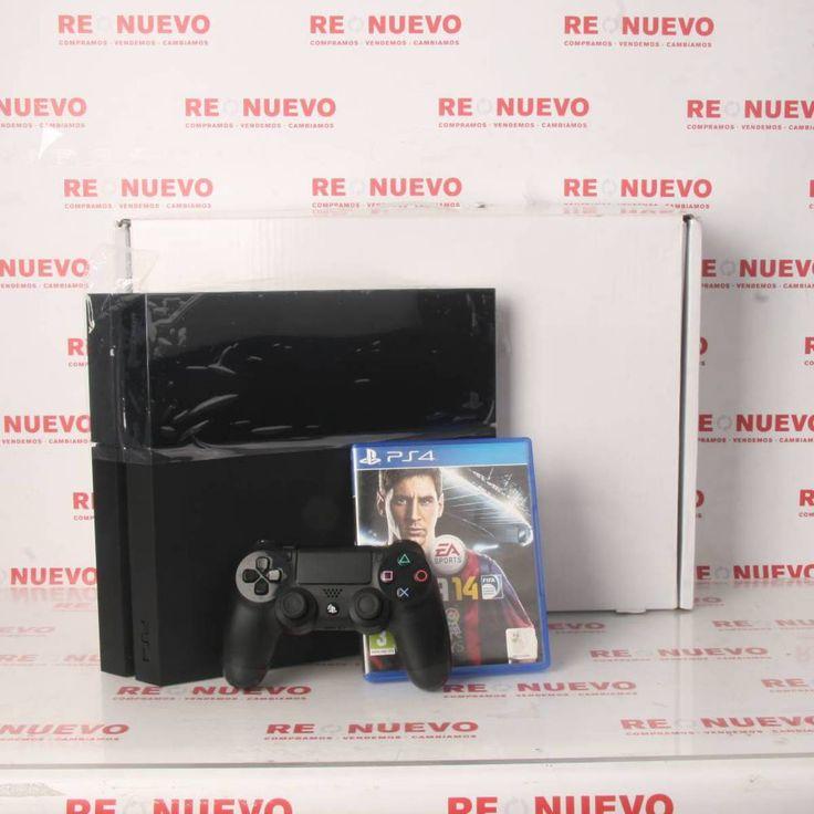 Consola PS4 500Gb + Mando + FIFA 14 de segunda mano E280287 | Tienda online de segunda mano en Barcelona Re-Nuevo